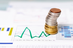 high-view-pile-coins-statistical-diagrams_23-2148305968